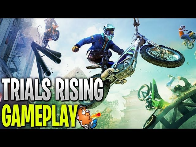 Introduction to Trials Rising | Trials Rising | Xbox One X Gameplay