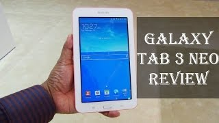 Samsung Galaxy Tab 3 Neo Review: Exclusive Hands-on Features, Specs, Price and availability