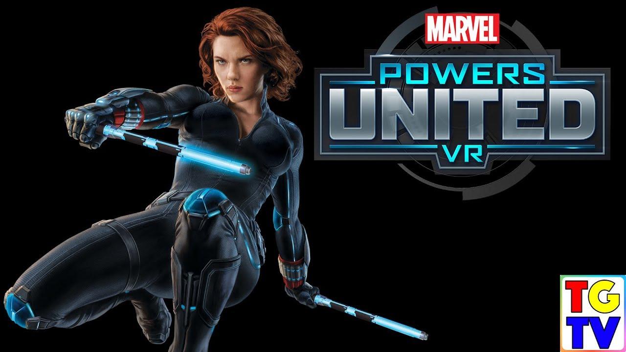 Marvel Super Hero Black Widow Intro Marvel Powers United Vr