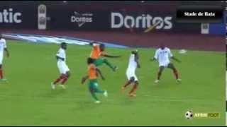 Yaya Touré - RD Congo vs Côte d'Ivoire (0-1)   CAN 2015
