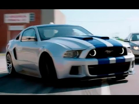 Форд Мустанг Boss 2000 - главный герой фильма «Need for Speed: Жажда скорости» / Фичуретка