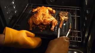 oven roasted whole tandoori chicken   baked chicken recipe