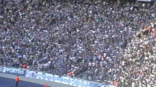 Hertha BSC : REAL Madrid .. Bier her - Bier her, oder ich fall um