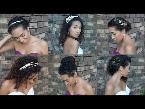 Formal Hairstyles for Naturally Curly Hair | Weddings and Parties