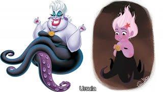 Disney Villians As Cute little Kids #disney