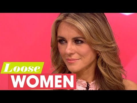 Elizabeth Hurley Says We Need to Talk About Breast Cancer  Loose Women