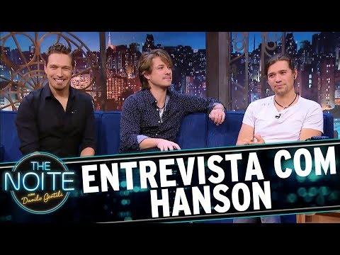 Entrevista com Hanson | The Noite (11/09/17)