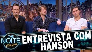 Entrevista com Hanson   The Noite (11/09/17)