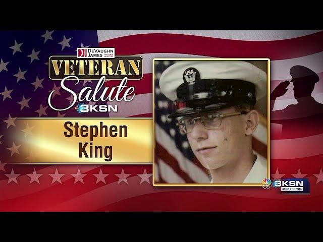 Veteran Salute: Stephen King