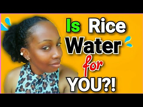 RICE WATER NATURAL HAIR TREND|Should you use it? 2019