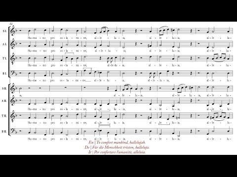 Scheidt   Surrexit Christus hodie [á 8; The Cambridge Singers]