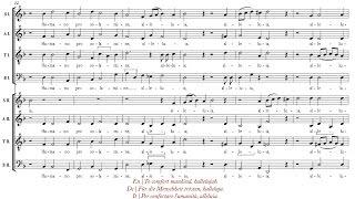 Scheidt | Surrexit Christus hodie [á 8; The Cambridge Singers]