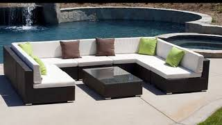Rattan Corner Sofa Garden Furniture