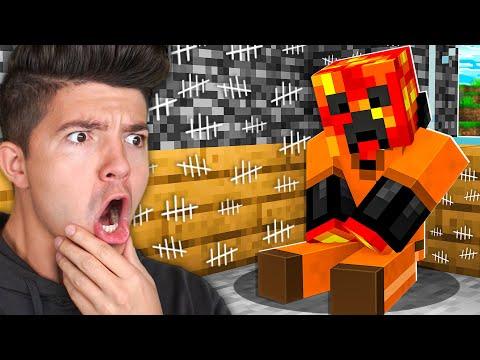 I Survived 100 Days in Minecraft PRISON! *maximum security*