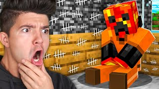 I Survived 100 Days in Minecraft PRISON! *maximum security*
