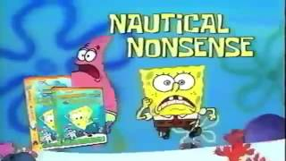 SpongeBob SquarePants VHS and DVD trailer