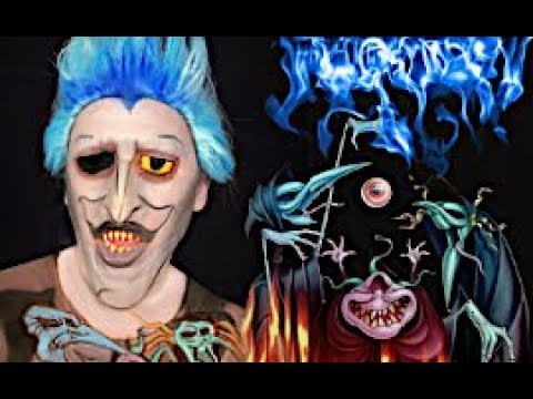 HERCULES Hades VS The Fates MAKEUP TUTORIAL! thumbnail