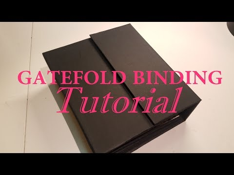 Gatefold Binding Tutorial **Fast and Easy**