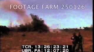 Vietnam War- Army, Soldiers Wounded, APCs; Chinese Weapons  250126-15 | Footage Farm