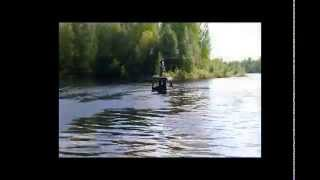 amphibious all terrain vehicle Pelec Transporter wmv