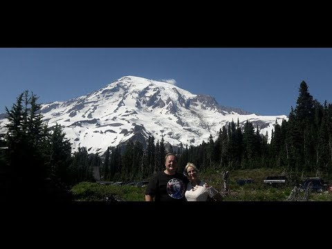 Day trip up to Mt  Rainer Paradise Washington State July 2017