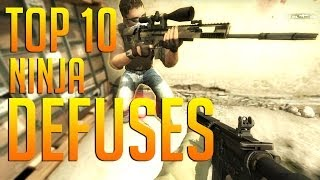 CS:GO - Top 10 | Ninja Defuses
