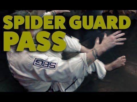 BJJ Fundamentals   Passing the Spider Guard