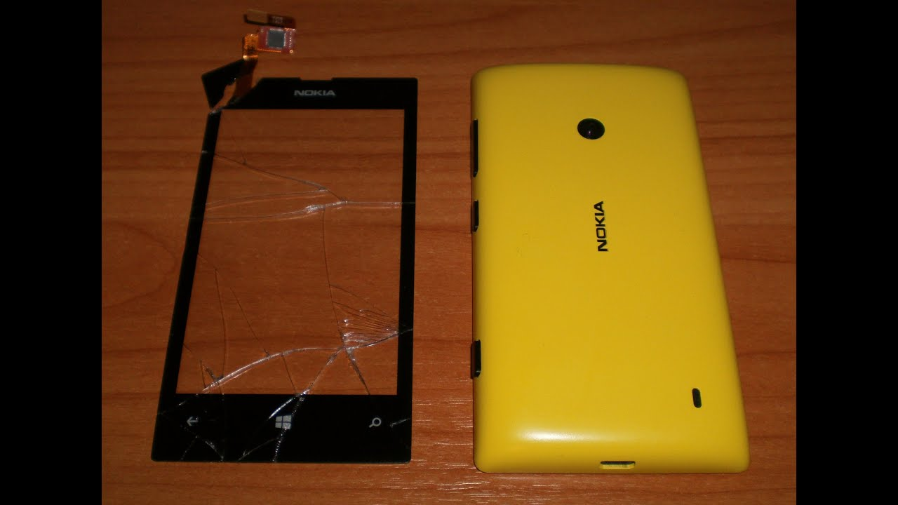 How to repair nokia lumia 520 screen
