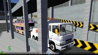 mm2 遊車河 1027 kmb mitsubishi fuso tow truck dennis trident 10 6m 九巴沙田車廠 49x city