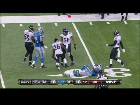 Tucker Kicks Ravens Past Lions