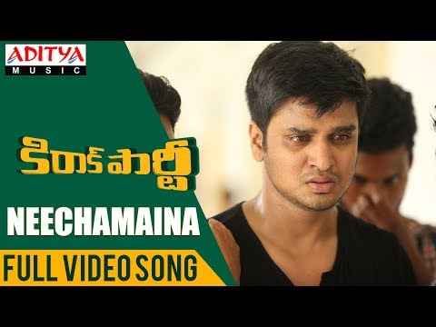Neechamaina Full Video Song | Kirrak Party Video Songs | Nikhil Siddharth | Simran