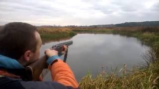 ИЖ 27 12 калібр стрільба перевірка кучності