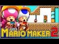 No te quedes girando!!! | Super Mario Maker 2