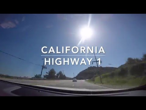 Driving California Highway 1 | Go Pro Hero 4 Time Lapse
