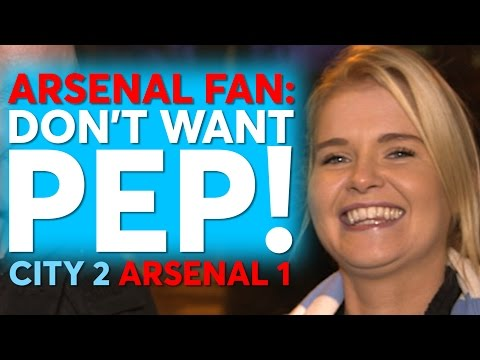 Arsenal Fan: Don't Need Pep! | Man City 2 Arsenal 1