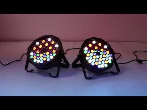 Светодиодный LED Par с Алиэкспресс. Сценический свет.