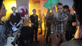 BLESSTHEFALL Behind The Scenes Of 40 Days Music Video