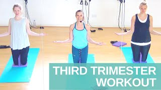 Third Trimester Pregnancy Workout | Preparing for Birth | Jane Wake