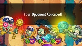 Stealing their sun and making them cry - Pvz Heroes