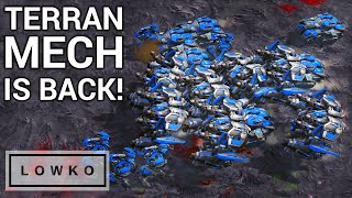 StarCraft 2: MECH TERRAN, BEST TERRAN? (Scarlett vs INnoVation)