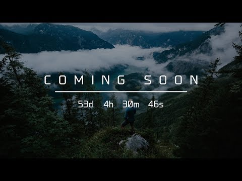 Coming Soon Page | HTML, CSS & JavaScript