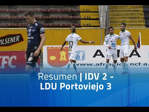 Independiente del Valle LDU Portoviejo Goals And Highlights
