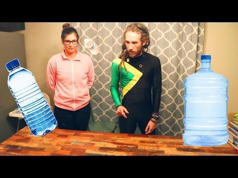 WATER BOTTLE FLIP EDITION! (SAMIKA OLYMPICS EVENT 5)