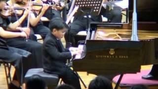 Haydn Concerto No. 11 in D major by George Li (9 yr)