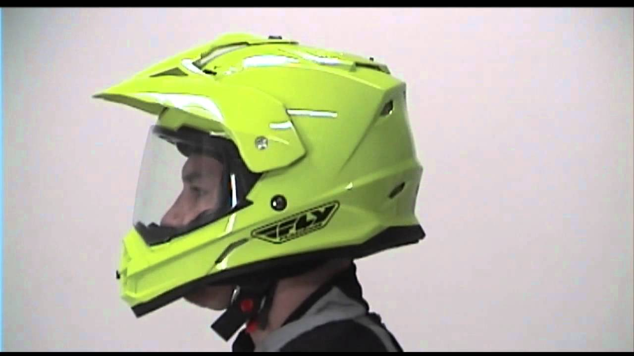 5304607a Fly Racing Trekker Dual Sport Motorcycle Helmet Review - YouTube