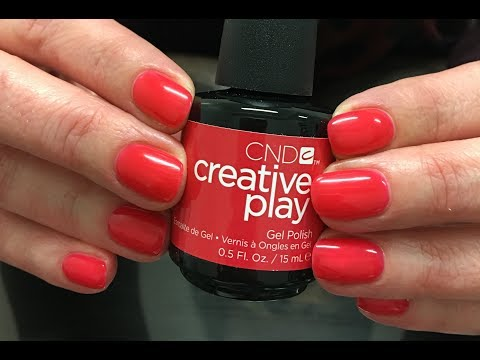 CND Creative Play #GelPolish.... REMOVAL!! Real time salon service- by Anna