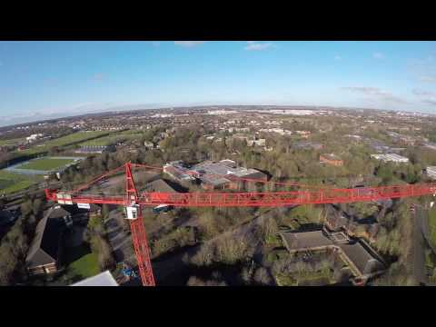 Lumenier QAV-R Racing Drone Coventry Crane diving fun 1