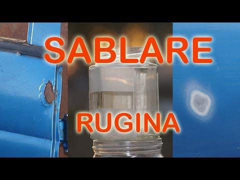 Sandblaster - SABLARE Curatare Rugina