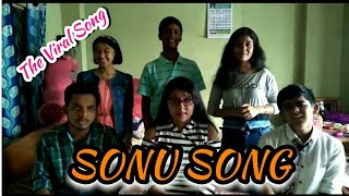 Sonu Song (PARODY) Bengali Version //Viral Song by Cute Girls and Boys
