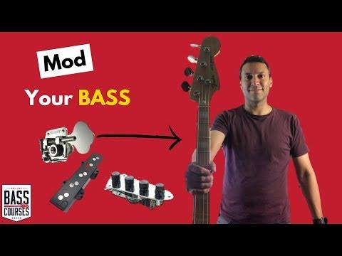 Common Bass Guitar Modifications - Upgrade Your Axe